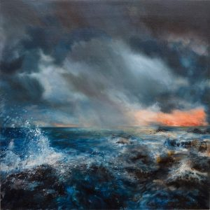 Julia Christie Sea Squall painting