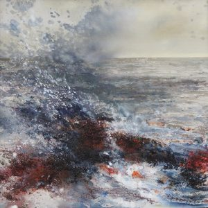 Julia Christie Skye waves painting