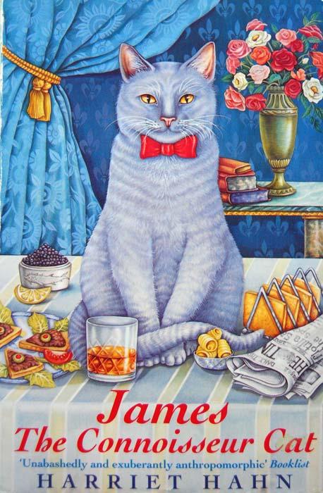 Connoisseur Cat book jacket