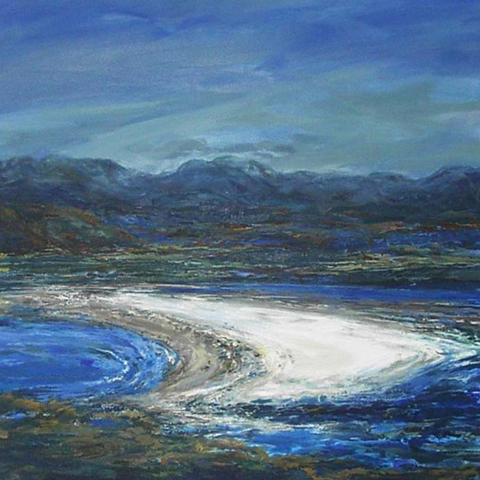 Landscape painting Julia Christie